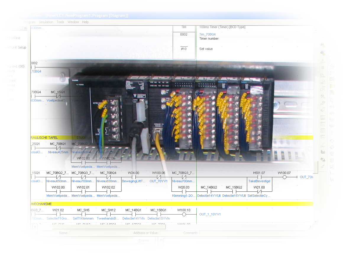 Eriak Engineering Beckhoff Wiring Diagram Automation Plc Programs Tailormade To The Desired Logic Of Your Machine Or Process Based On Siemens Omron Yokogawa Crio Ni